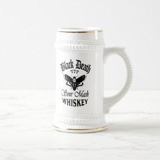 La mort noire 777 - whiskey de tête de décès tasses à café