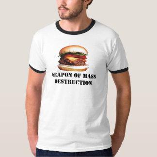 La mort par le cheeseburger t-shirt