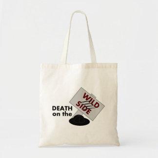 La mort sur le sac fourre-tout latéral sauvage