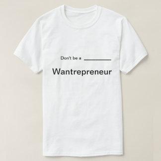 La motivation de personnes ne sont pas un T-shirt
