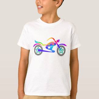 La MOTO d'art de bruit badine le tee - shirt T-shirt