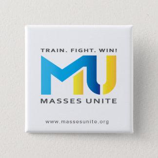 La MU officielle boutonnent - le train. Combat. Badges