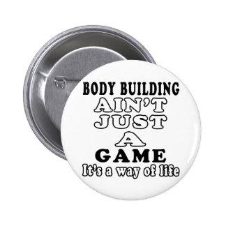 La musculation n est pas simplement un jeu que c e badges avec agrafe