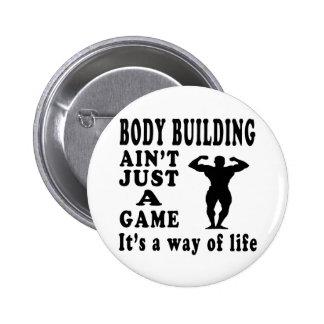 La musculation n'est pas simplement un jeu que c'e badge
