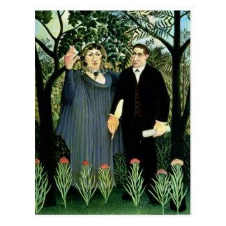 La Muse inspirant le poète, 1908-09 Cartes Postales