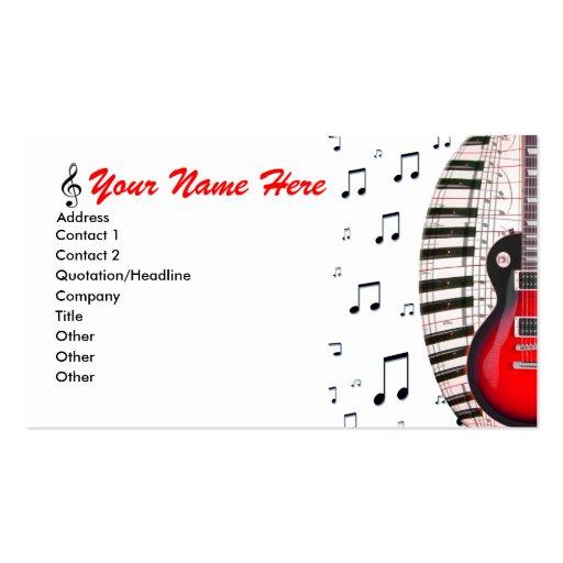 La musique de clavier de piano de guitare note le