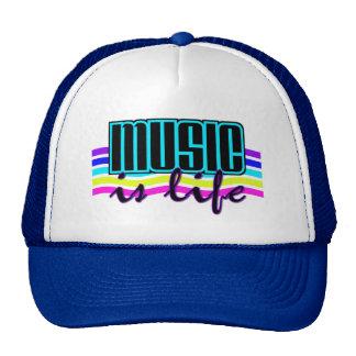La musique est casquette de la vie