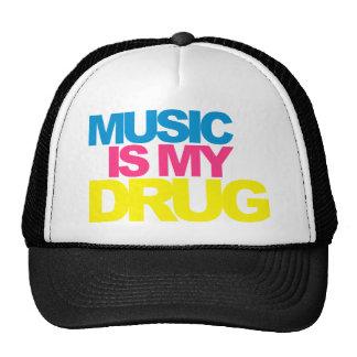 La musique est ma drogue casquette