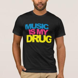 La musique est ma drogue t-shirt