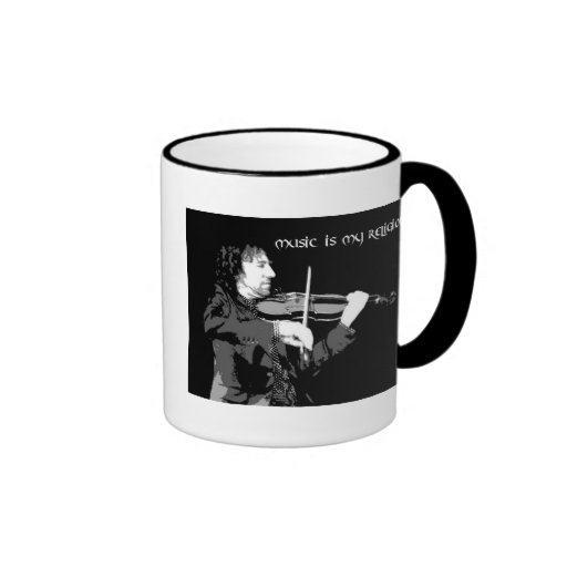 La musique est ma religion - Violon Mug