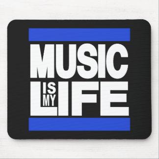 La musique est mon bleu de la vie tapis de souris