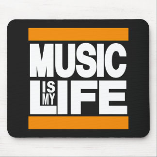La musique est mon orange de la vie