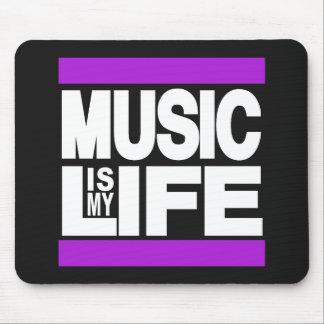 La musique est mon pourpre de la vie