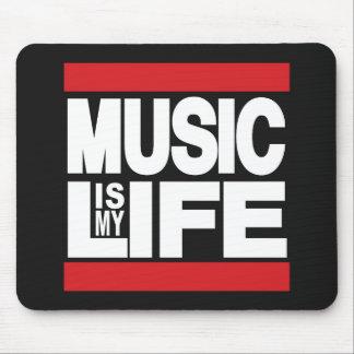 La musique est mon rouge de la vie