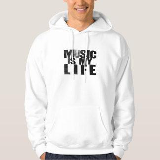La musique est mon sweat - shirt à capuche de la pull avec capuche