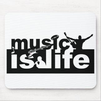 La musique est mousepad de la vie - personnaliser  tapis de souris