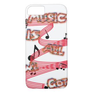 La musique est toute que nous avons obtenu le cas coque iPhone 7