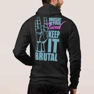 La musique est votre sweat - shirt à capuche de