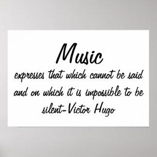 La musique exprime… posters