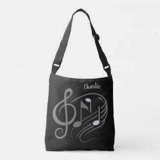La musique note les sacs nommés faits sur commande