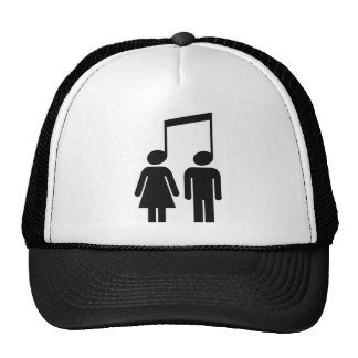 La musique nous unit casquette trucker