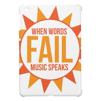 La musique parle étuis iPad mini