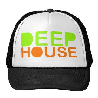 la musique profonde DJ de maison dénomment la Casquette