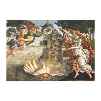 La naissance de Botticelli de Kitty Impression Sur Toile