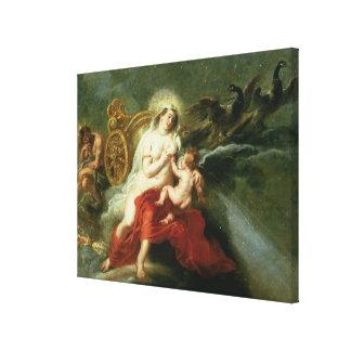 La naissance de la manière laiteuse, 1668 toiles tendues