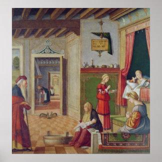 La naissance de la Vierge, 1504-08 Posters
