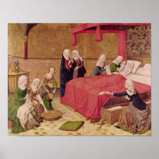 La naissance de la Vierge Posters
