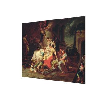 La naissance de Mary, c.1753 (huile sur la toile) Impressions Sur Toile