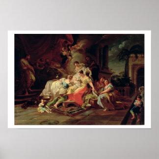 La naissance de Mary, c.1753 (huile sur la toile) Posters