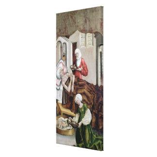 La naissance de St John le baptiste Toile Tendue Sur Châssis