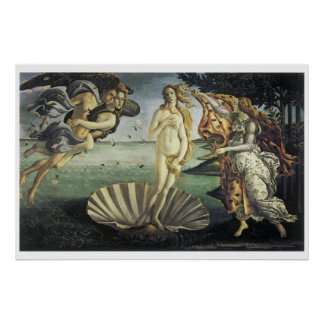 La naissance de Vénus Affiches