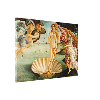 La naissance de Vénus   Botticelli Toile Tendue Sur Châssis