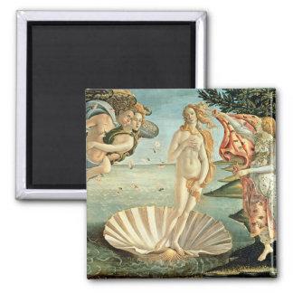 La naissance de Vénus, c.1485 (tempera sur la Aimant