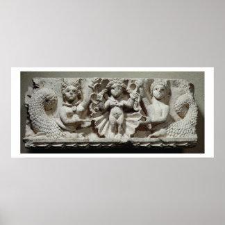 La naissance de Vénus (chaux) Posters