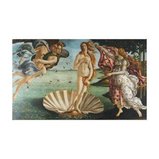 La naissance de Vénus (par Sandro Botiicelli) Toile Tendue