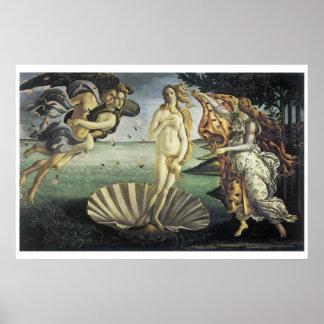La naissance de Vénus Poster