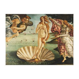 La naissance de Vénus Impression Sur Toile