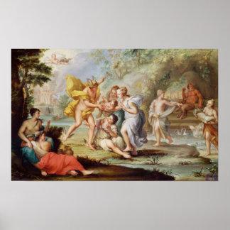 La naissance du Bacchus Posters