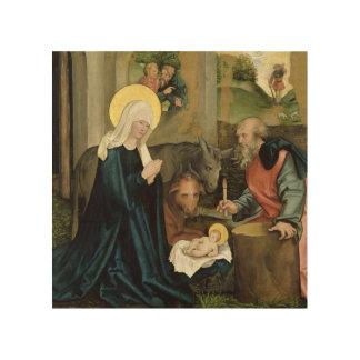 La naissance du Christ Impression Sur Bois