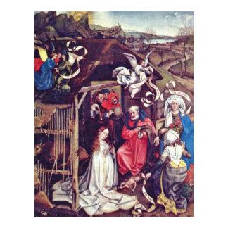 La naissance du Christ., par Robert Campin (la mei Prospectus