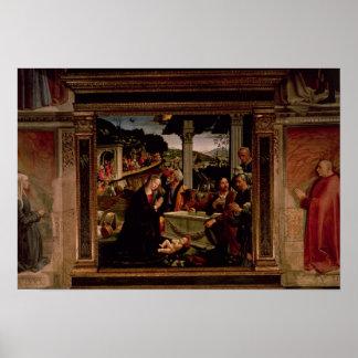 La naissance du Christ Posters