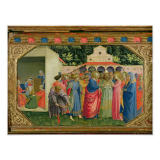 La naissance et le mariage de la Vierge Affiches
