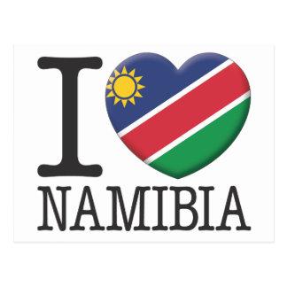La Namibie Carte Postale