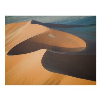 La Namibie, Soussevlei, grandes dunes de sable Carte Postale