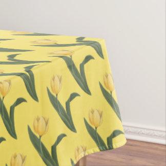 La nappe Pâques de fête de tulipe fleurit la nappe
