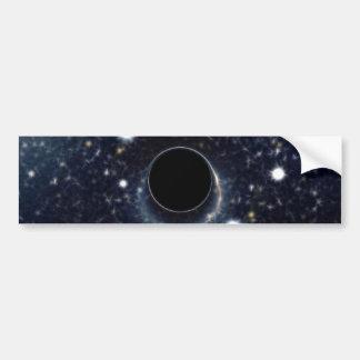 La NASA d'anneau d'Einstein de trou noir Autocollant Pour Voiture